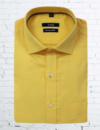 TAG lemon yellow shirt