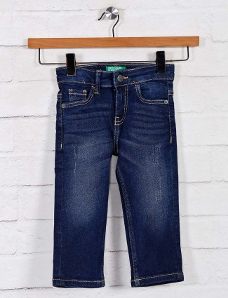 UCB navy boys washed jeans