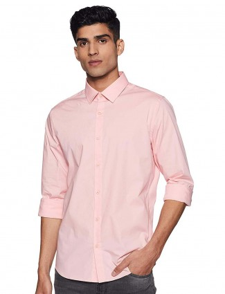 United Colors of Benetton cotton pink shirt