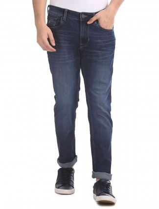 US Polo blue slim fit mens jeans
