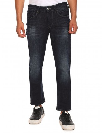 US Polo casual look black washed jeans