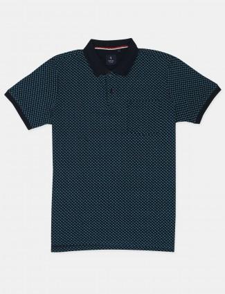 Van Hausen printed style mens casual t-shirt