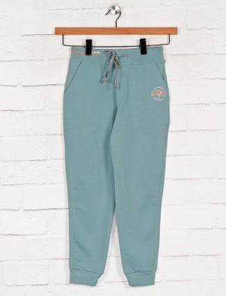 Xn Sport solid aqua cotton payjama