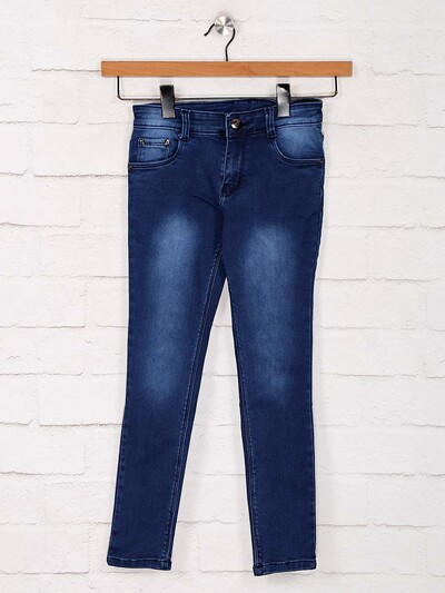 No Fear blue skinny fit jeans