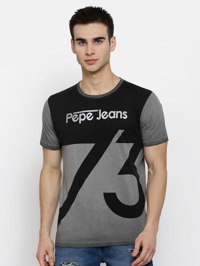Pepe Jeans grey printed t-shirt