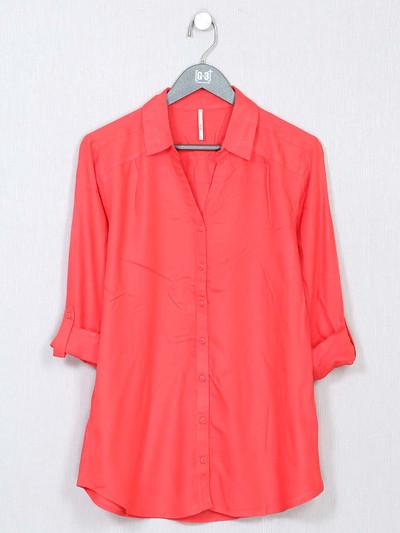 Recap magenta colour top for women