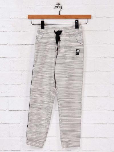 Ruff beige stripe cotton payjama