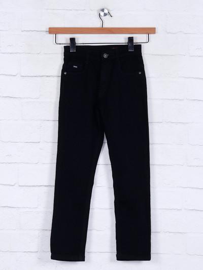 Ruff blackdenim jeans for boys
