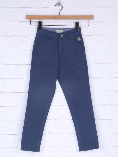 Ruff blue hued casual wear jeans