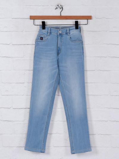 Ruff blue washed denim jeans
