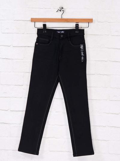 Ruff latest black slim fit jeans