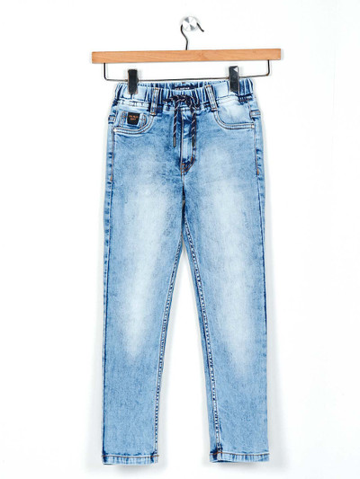 Ruff light blue washed boys jeans