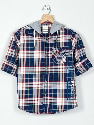 Ruff navu checks boys shirt