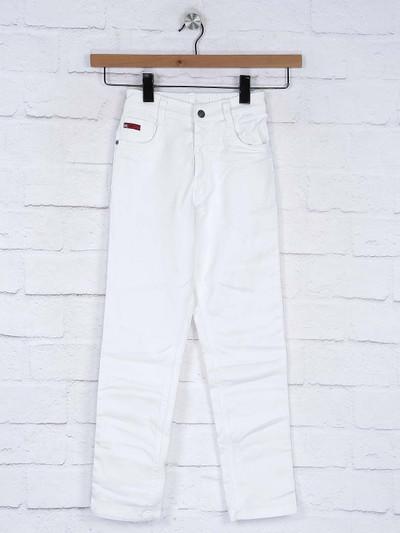 Ruff white hue solie denim jeans