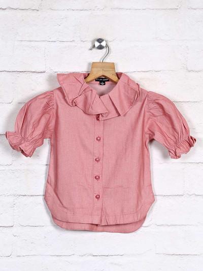 Stilomoda cotton pink solid top