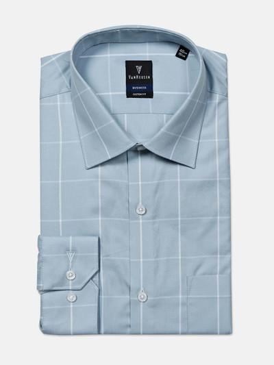 Van Heusen presented blue checks shirt