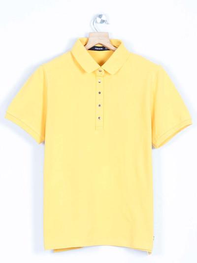 Yellow casual wear top for women